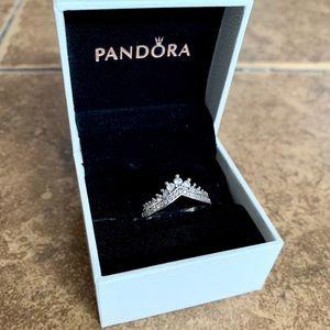 💕Pandora's Princess Wish Ring 💕